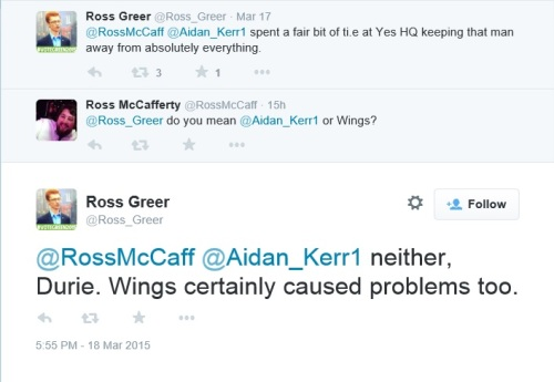 Official Yes campaign organiser openly admits Wings caused the campaign problems - shock. Cognitive dissonance a go-go.